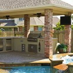 Outdoor Kitchen Abilene Kitchen and Bathroom Remodeling